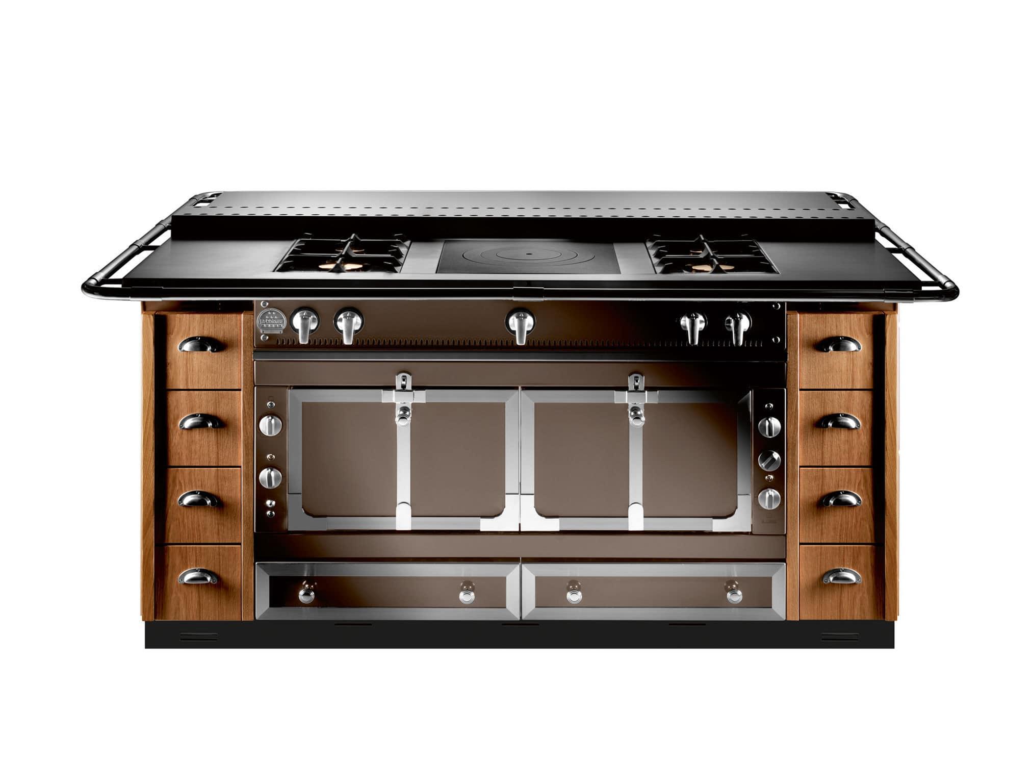 electric kitchen stove antique hutch 燃气厨房灶具 电动 混合型 不锈钢 le chateau 120 la cornue