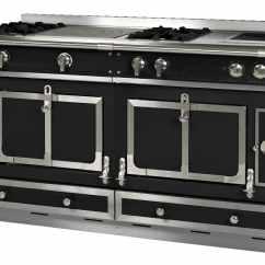 Lowes Kitchen Stoves Red Knife Block Set 混合灶 燃气 电动 Le Chateau 150 La Cornue