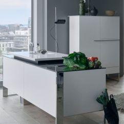 Metal Kitchen Island Stools For Islands 现代风格厨房 En Bois Laque 金属 岛台式 Venovo Poggenpohl 视频