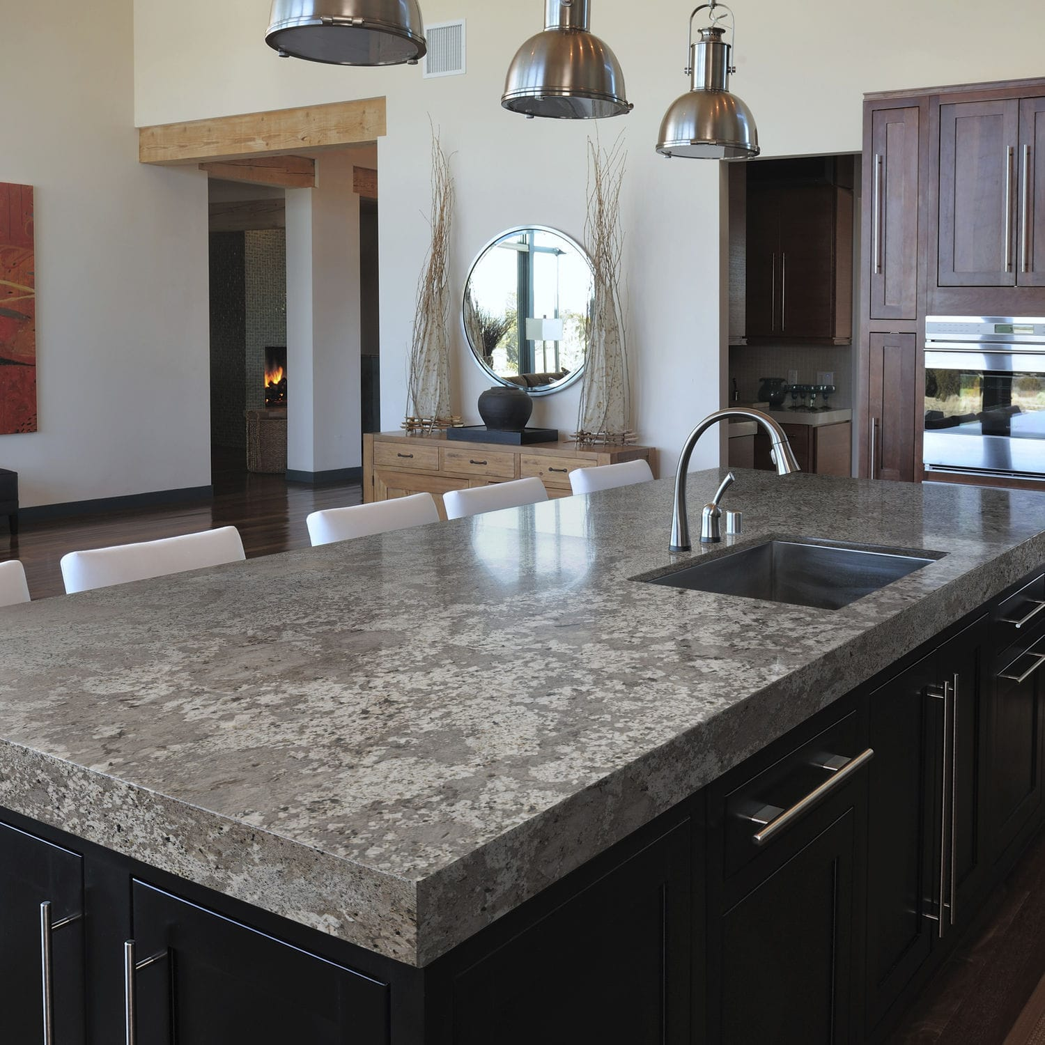 granite kitchens kitchen makeovers on a budget 花岗岩厨房台面 厨房 bianco antico cosentino
