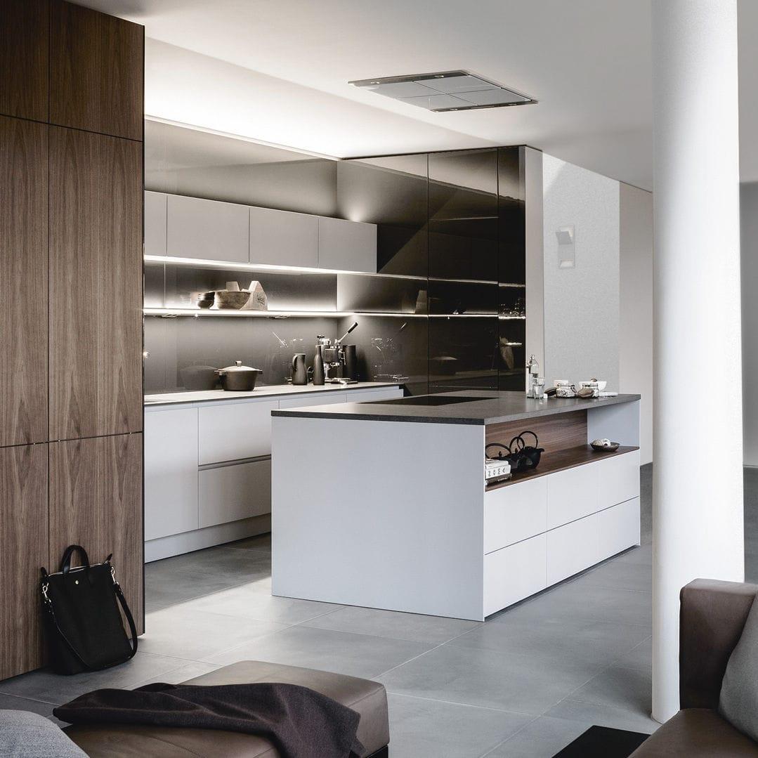 kitchen ideas with island appliances bundles 现代风格厨房 en bois laque 木制贴皮 岛台式 pure s2 se