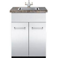 24 Kitchen Sink Blue Rugs 不锈钢厨房水槽柜 不锈钢 用于花园 Vsbo W X 30 D Viking
