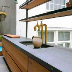 Kitchen Counter Tops Soffit Lighting Ductal纤维高性能混凝土厨房台面 厨房 Balian Beton Atelier