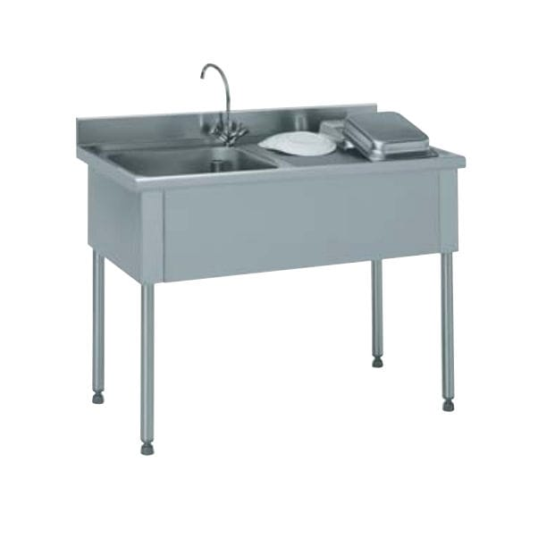 commercial kitchen sink metal table for 不锈钢厨房水槽柜 猫脚 商用厨房 816 661 tournus