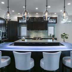 Kitchen Counter Options Refacing Cabinets Before And After 厨房柜台 吧台 玻璃 U 形 3 Thinkglass