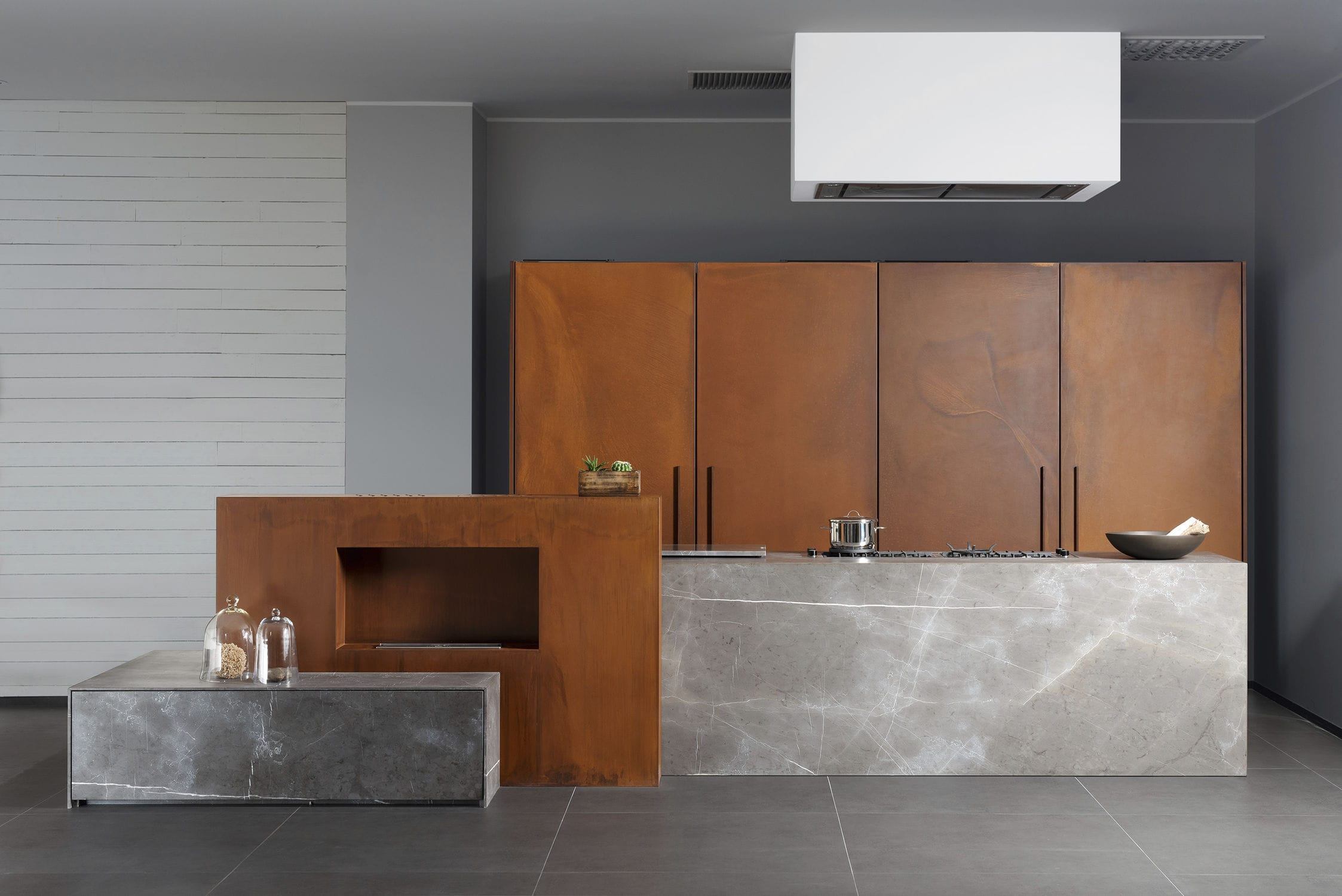 metal kitchen island one handle faucet 现代风格厨房 石材 金属 岛台式 201112 11 d90 pietra di corinto