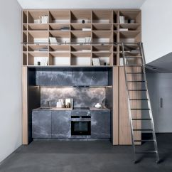 Compact Kitchen Sink Stonewall Pancake Mix 现代风格厨房 木质 石材 紧凑型 201501 03 By Lauren Nicholas Tm