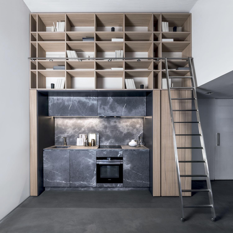 compact kitchens kitchen cabinet doors replacement 现代风格厨房 木质 石材 紧凑型 201501 03 by lauren nicholas tm
