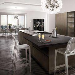 Metal Kitchen Island White With Stools 现代风格厨房 木质 金属 岛台式 Antis Fusion Euromobil Spa 视频