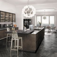 Metal Kitchen Island Make A 现代风格厨房 木质 金属 岛台式 Antis Fusion Euromobil Spa 视频