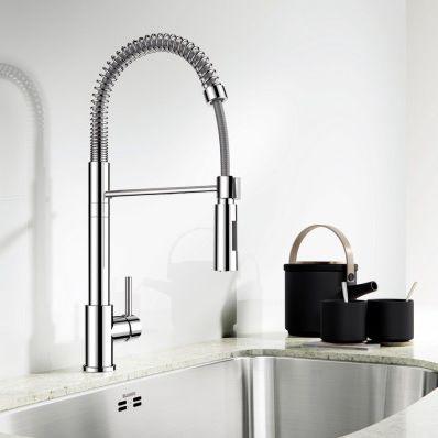 commercial kitchen faucet portable island 金属调温龙头 厨房 单孔 商用 ellipse blanco gmbh co kg