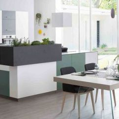 Slate Kitchen Faucet Black Knobs 板岩厨房产品信息 经销网络 建筑和设计产品制造商 Archiexpo 视频 现代风格厨房 板岩 石英 U 形