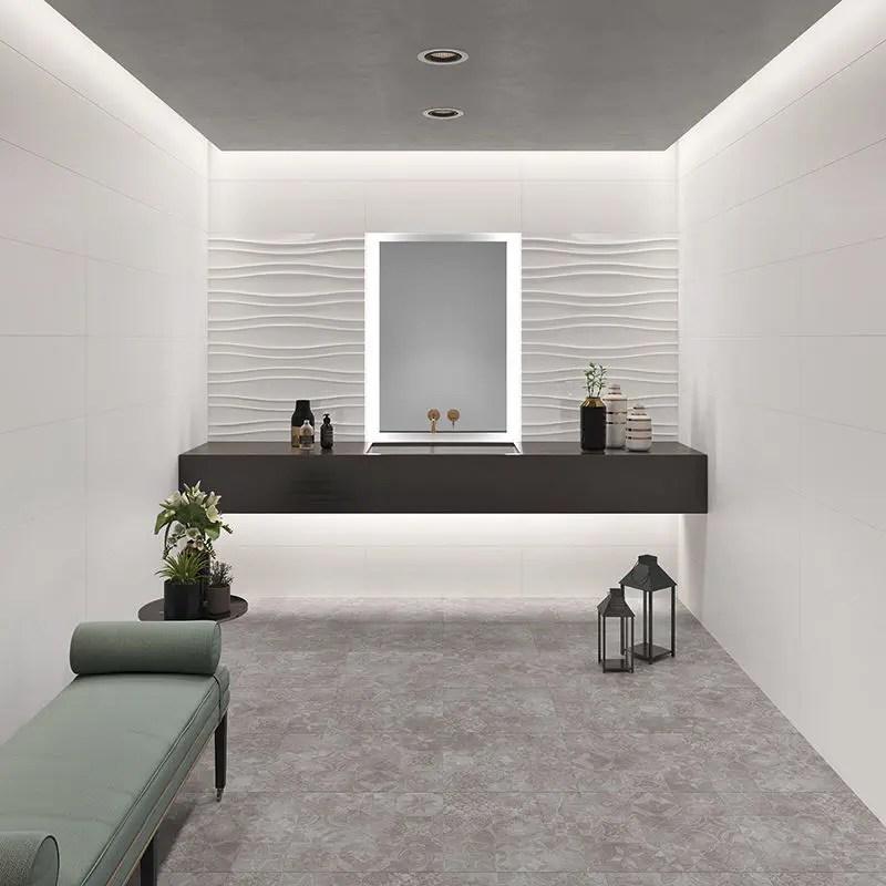 indoor tile flick flash wave
