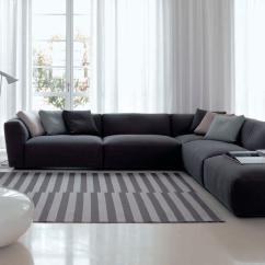 Contemporary Fabric Sofas Apartment Size Sofa Sets Corner Modular Elliot Verzelloni