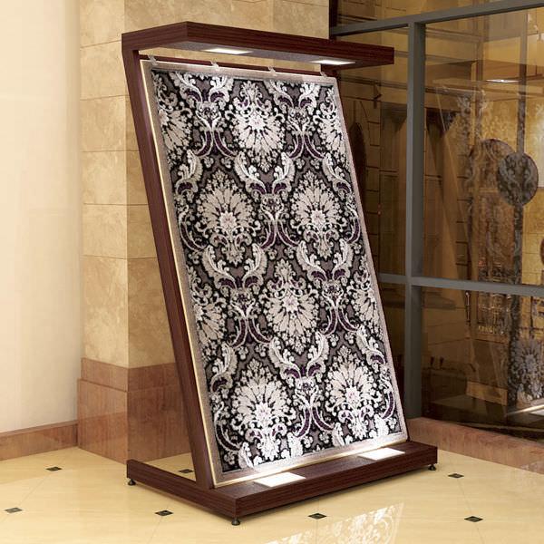 carpet display rack model6 akdeniz