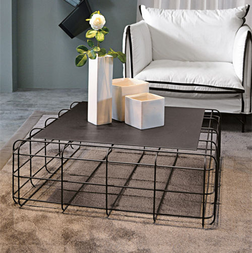 contemporary coffee table wire