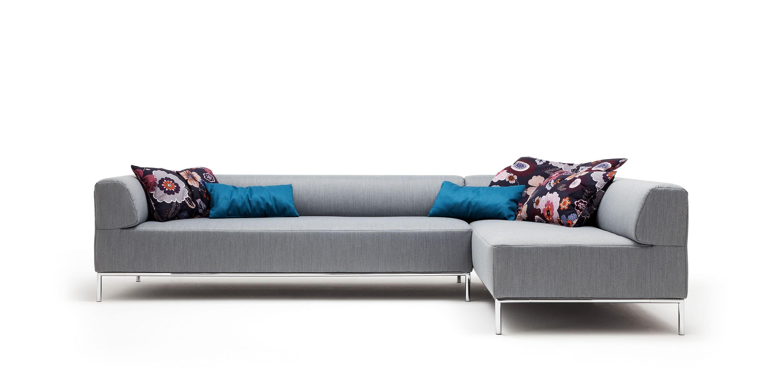 rolf benz freistil sofa no 180 century furniture modular contemporary fabric 3 seater 185