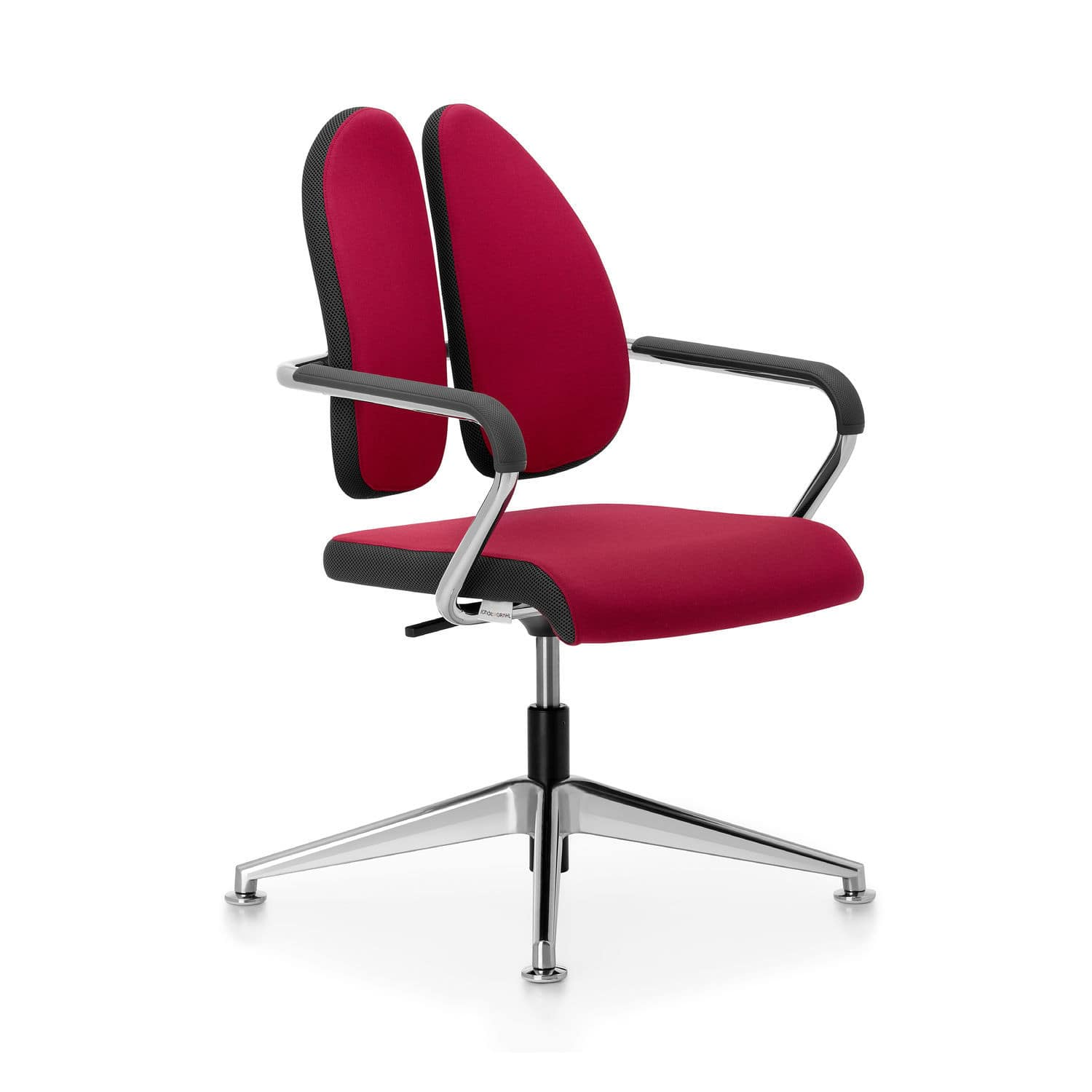 xenium swivel chair traditional wingback contemporary conference upholstered with armrests stackable