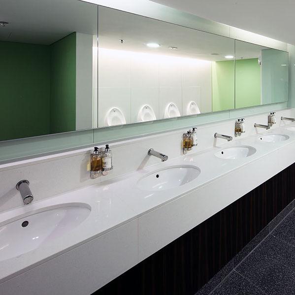 Silestone® vanity top - Washroom Washroom Limited - professional