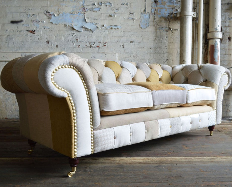 chesterfield sofa material leather bed with storage fabric 2 person 3 seater chester abode sofas
