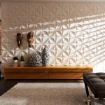 Bamboo Decorative Panel Aryl 3dcora Natural Fiber For Interior For Ceilings