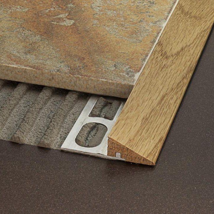 tile transition profile pronivel wood