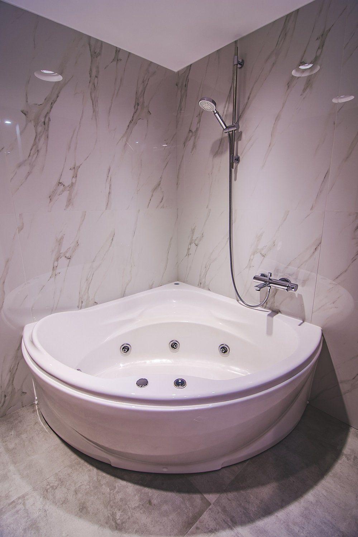Free Standing Bathtub Shower Combination Corner Acrylic