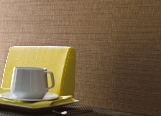 Vinyl Wallcovering For Professional Use Non Woven Smooth SequoÏa Texdecor