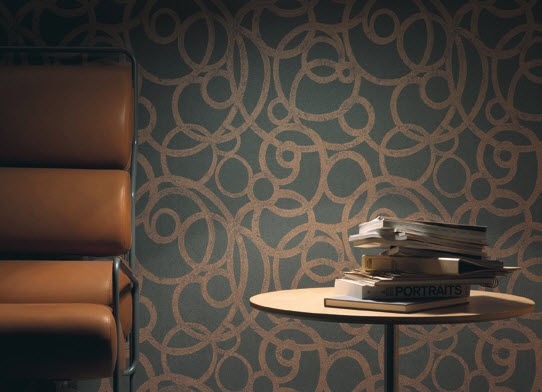 Vinyl Wallcovering For Professional Use Non Woven Smooth Kyoto Texdecor