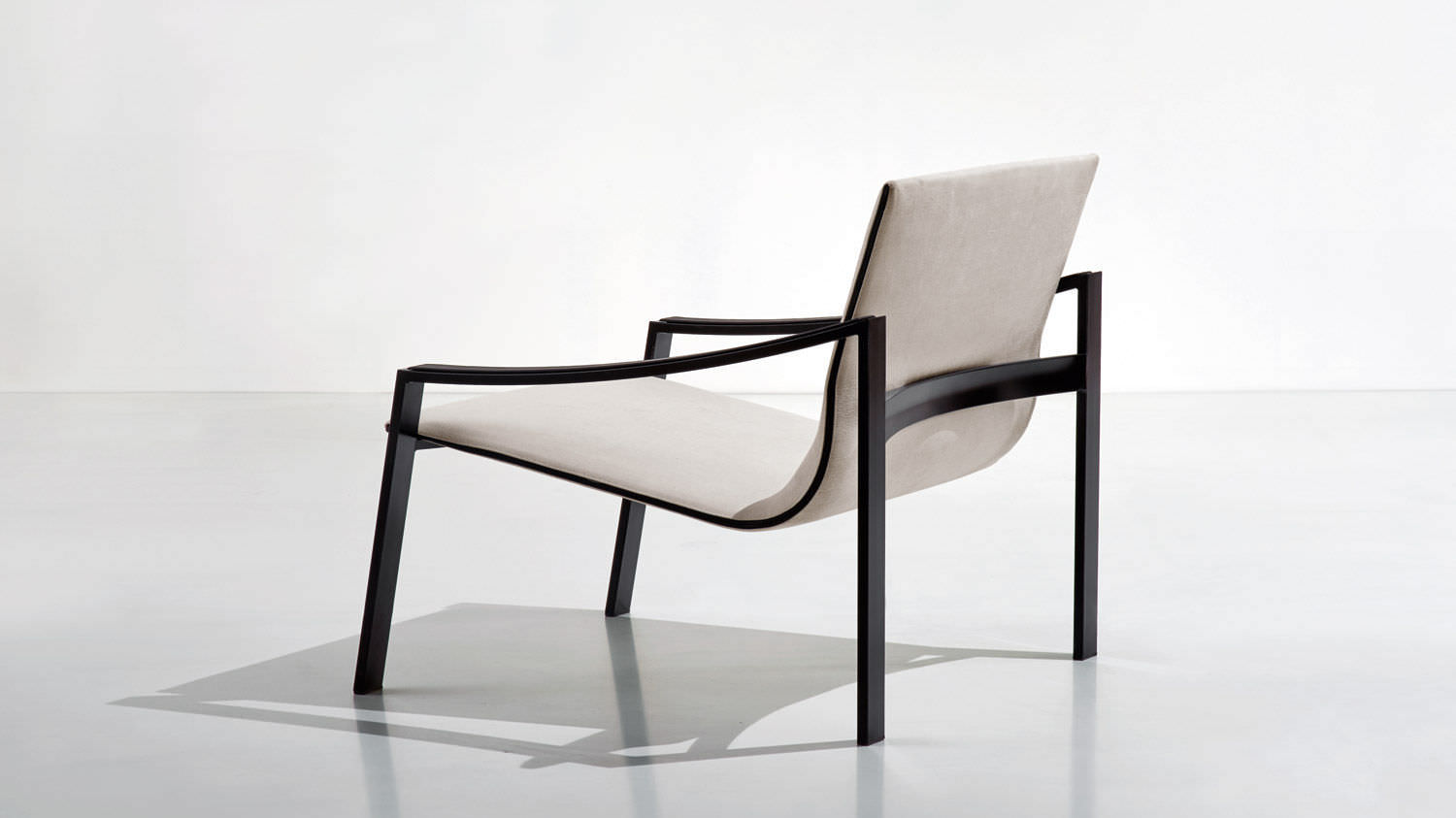 metal armchair desk chair size contemporary fabric leather allure by matteo