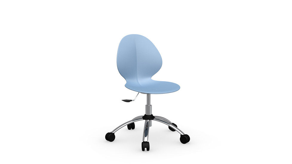 swivel chair em portugues linen covers contemporary office on casters adjustable basil