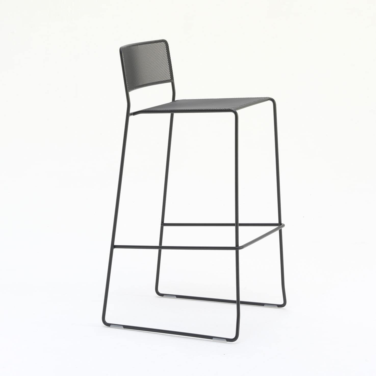 chair mesh stool dining room chairs clearance contemporary bar with footrest sled base stackable log st