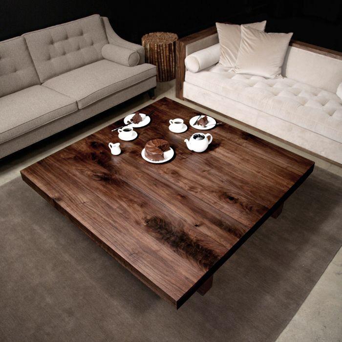hudson furniture walnut square custom