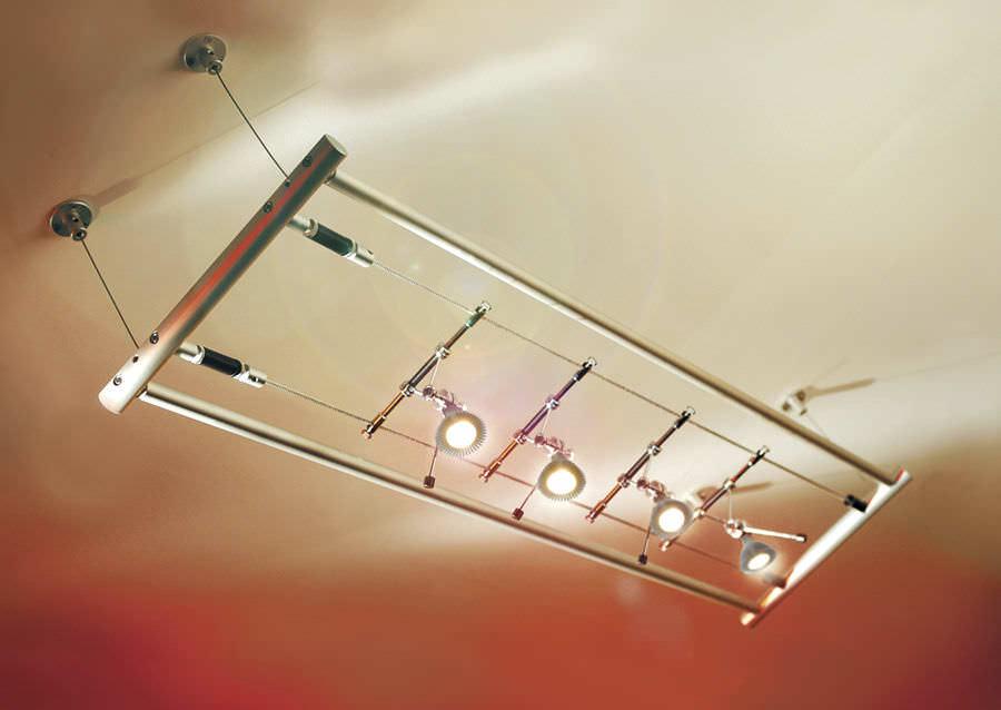 halogen cable lighting gantries