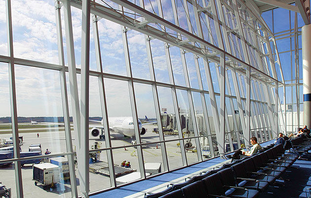 Stick System Curtain Wall Aluminum And Glass SYSTEM 5600 2 1 4