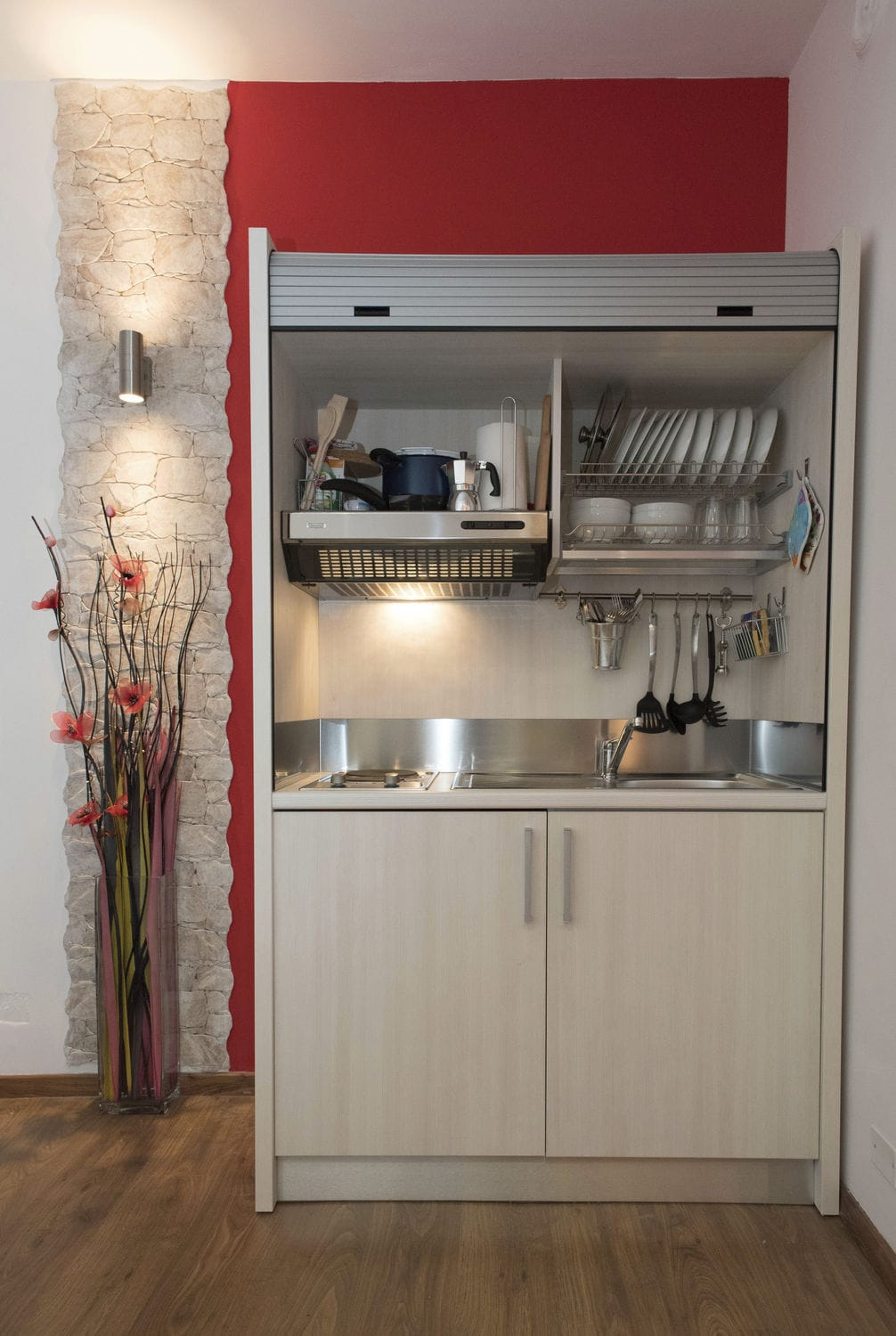 kitchen compact where to buy cabinet doors wooden commercial for offices hotel rooms