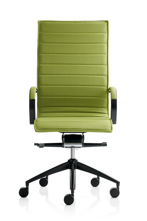 swivel chair em portugues adirondack set contemporary office armchair mesh on casters em202