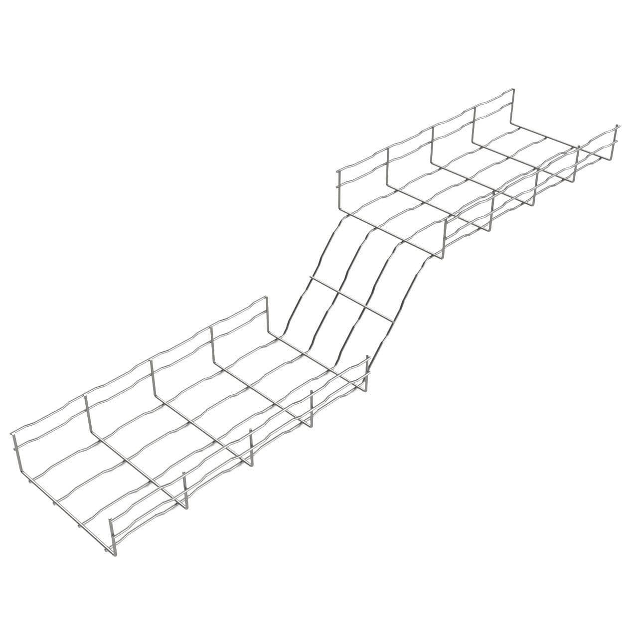 Steel wire mesh cable tray bfr basor electric