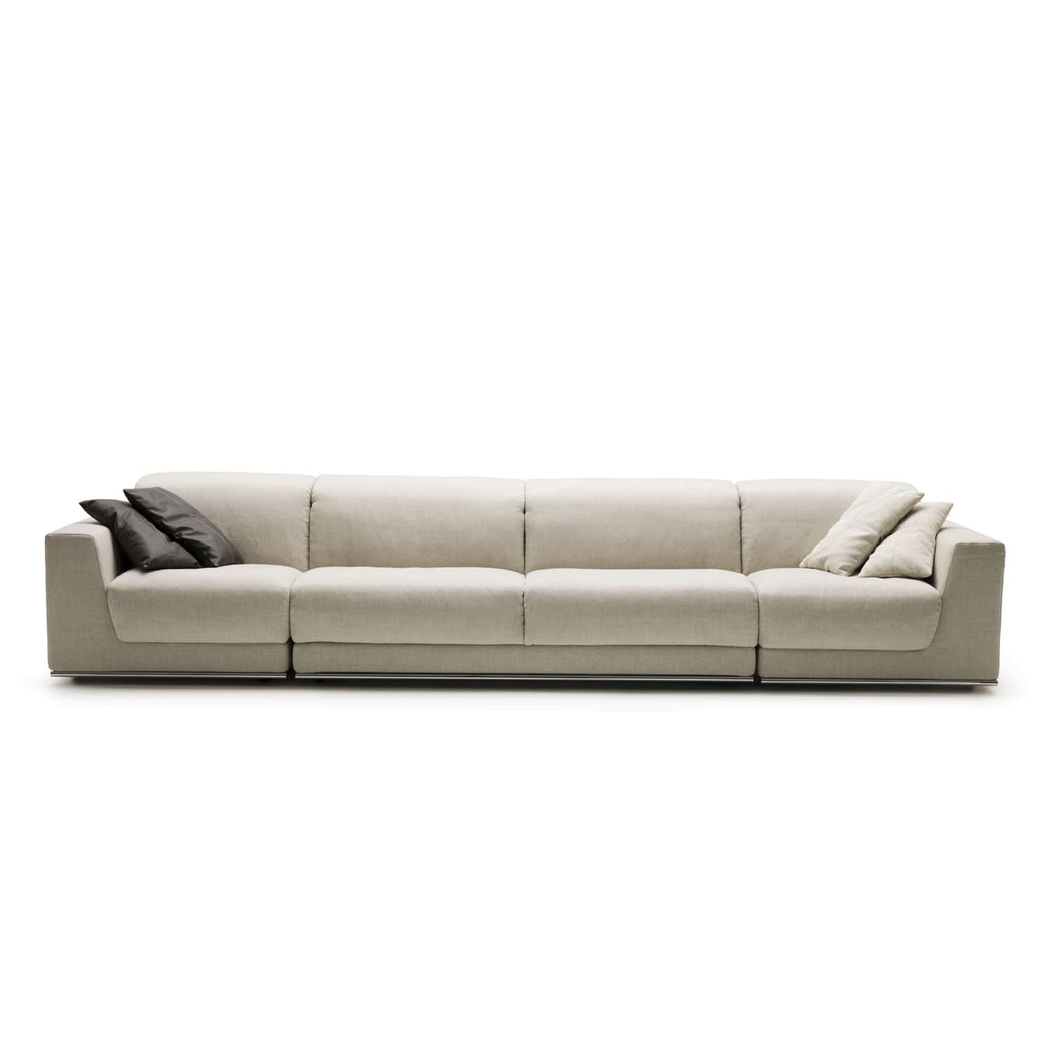 contemporary fabric sofas big lots leather sofa review modular bed joe by alesandro elli
