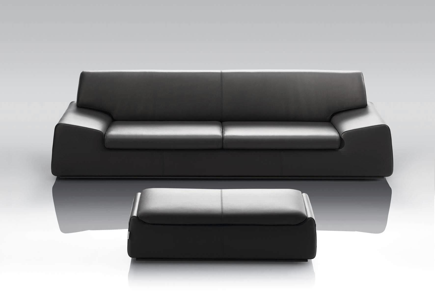 contemporary leather sofa bed lazy boy twin sleepers fabric wind by manzoni tapinassi