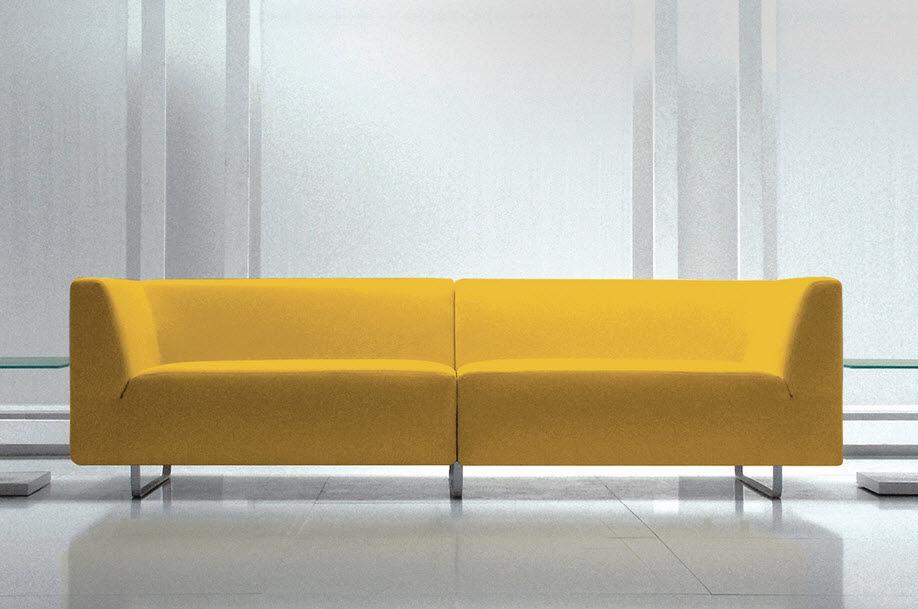 Modular Sofa Contemporary Polyester Fiber Commercial Swing By Studio Informa