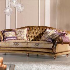 Classic Sofa Country Blue Plaid Velvet 2 Person Etoile Ring Pigoli