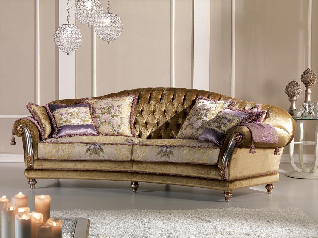 sofa classic cushion support reviews velvet 2 person etoile ring pigoli