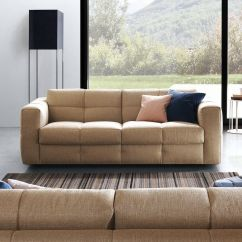 Best Way To Fix A Sofa Bed Sectional Sofas Sears Outlet Contemporary Leather Fabric Piuma By Paolo Salvade