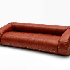 Contemporary Leather Sofa Bed Disposal Bedfordshire 3 Seater Anfibio By Alessandro Becchi
