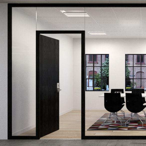 Recessed ceiling light fixture - INDIGO - FAGERHULT - LED / fluorescent / square