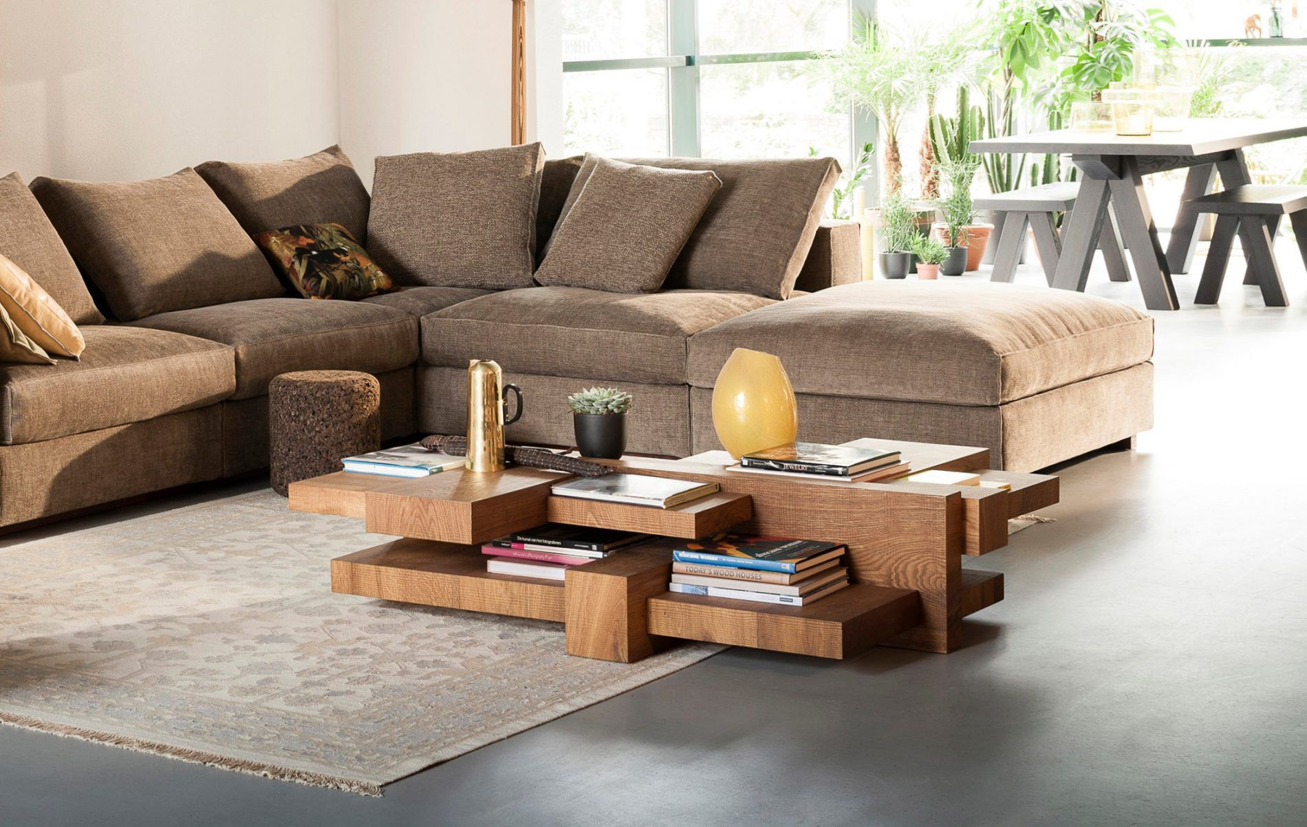 Couchtisch Madison Original Design Coffee Table - Manhattan - Linteloo - Wooden