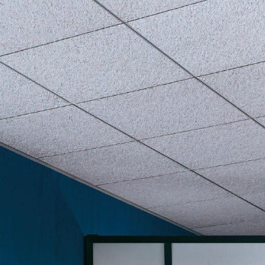 mineral fiber suspended ceiling frost