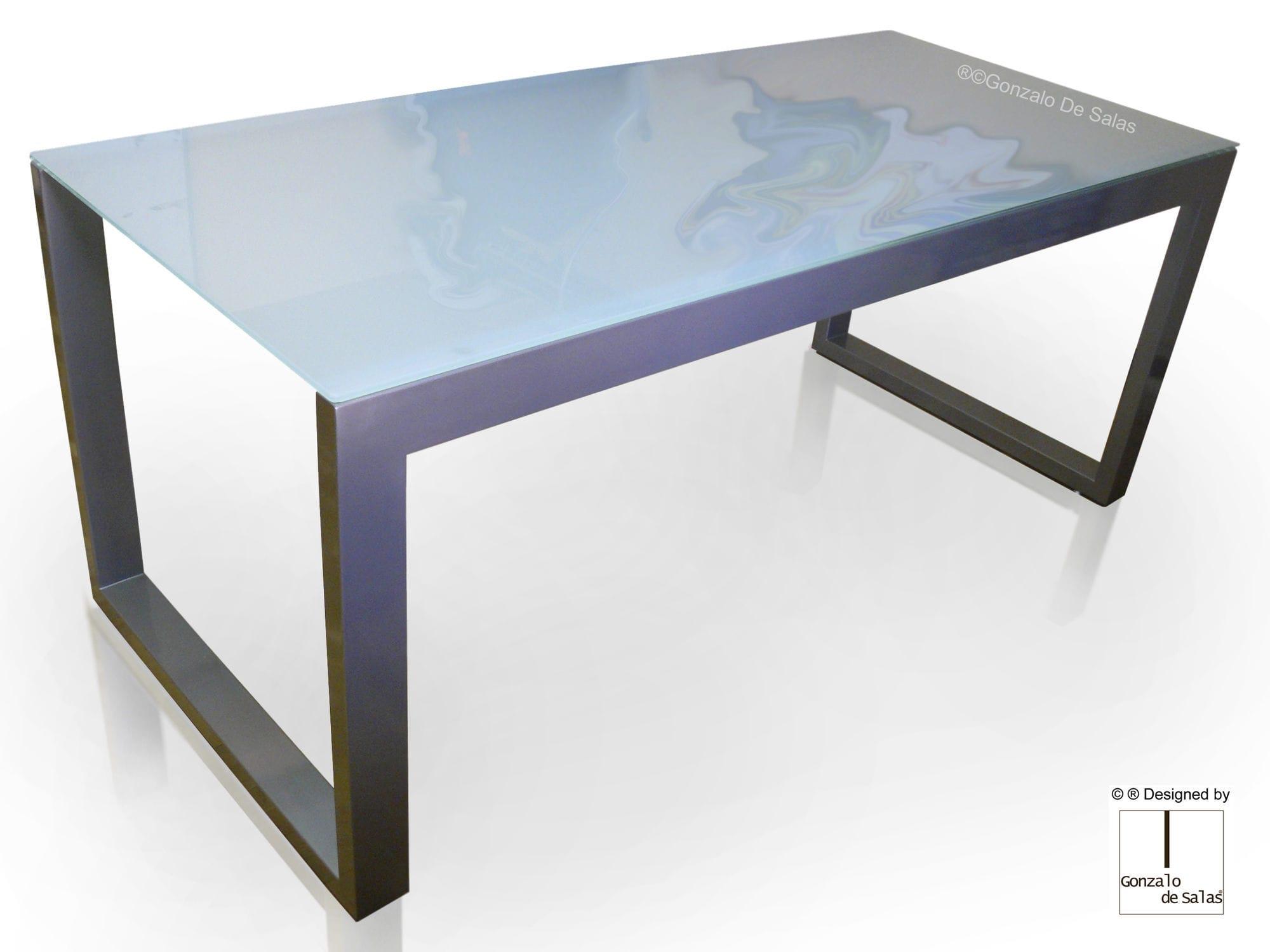 glass desk maza gonzalo de salas