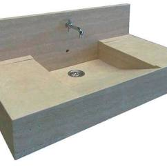 Stone Kitchen Sink Glass Subway Tile Single Bowl Natural Stile Pietre Di